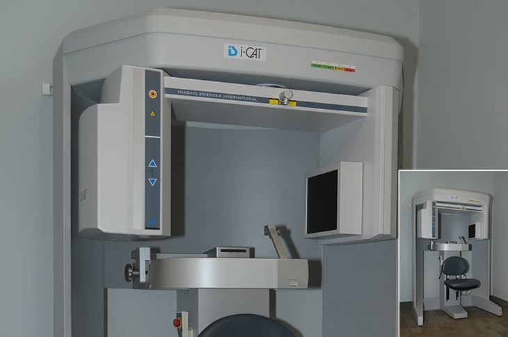 AOS Cone Beam CT Machine Located On X-Ray Suite