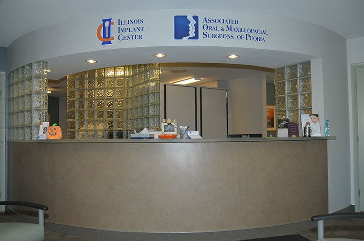 Associated Oral & Maxillofacial Surgeons Front Desk Photo